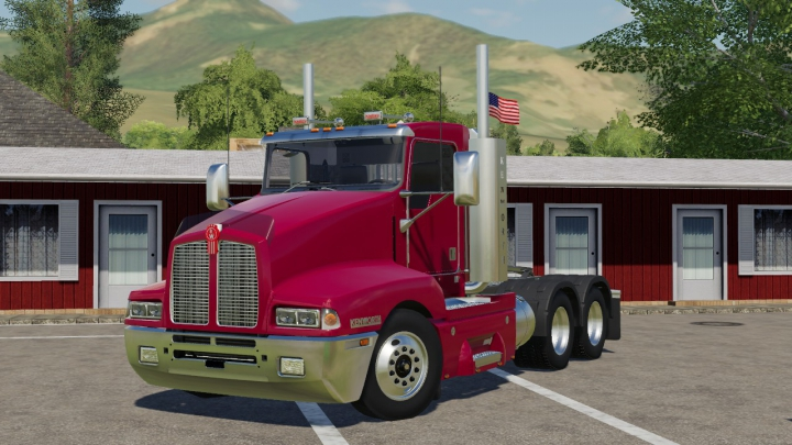 Trending mods today: Kenworth T600 DayCab Americanized