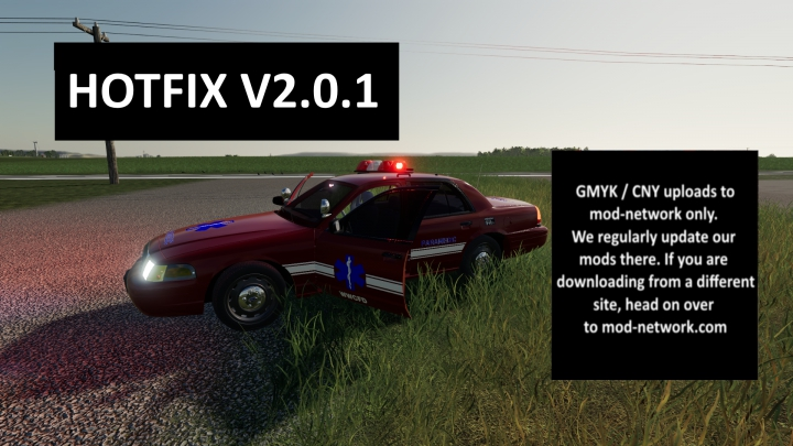 Trending mods today: V2.0.1 Ford Crown Victoria Paramedic