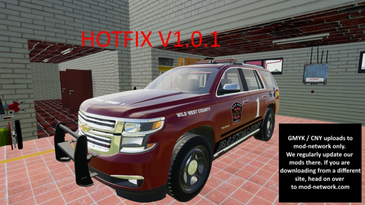 Trending mods today: Chevy Tahoe Battalion 1 Chief