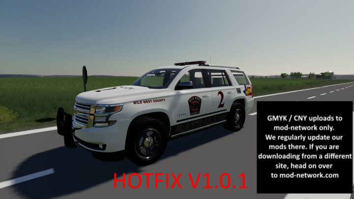 Trending mods today: Chev Tahoe Battalion 2 Chief