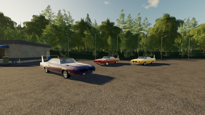 Trending mods today: FS19 Plymouth Superbird 1970
