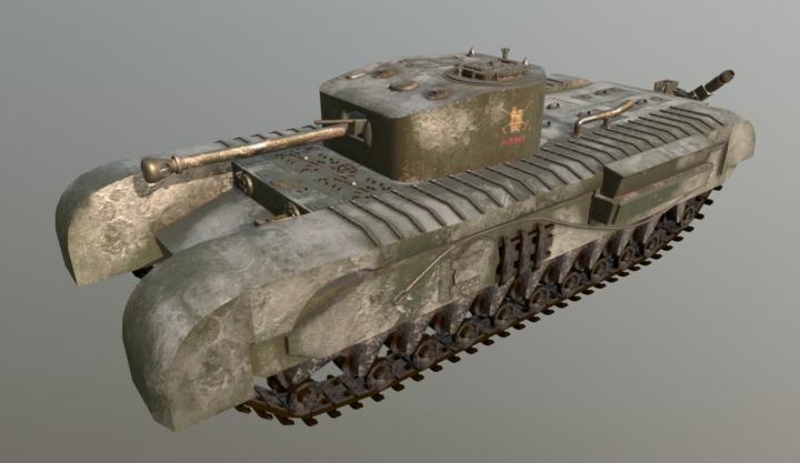 Trending mods today: churchill tank