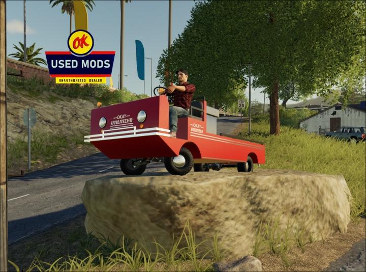 Trending mods today: OK Utilitizer - Utility Vehicle - By OKUSEDMODS