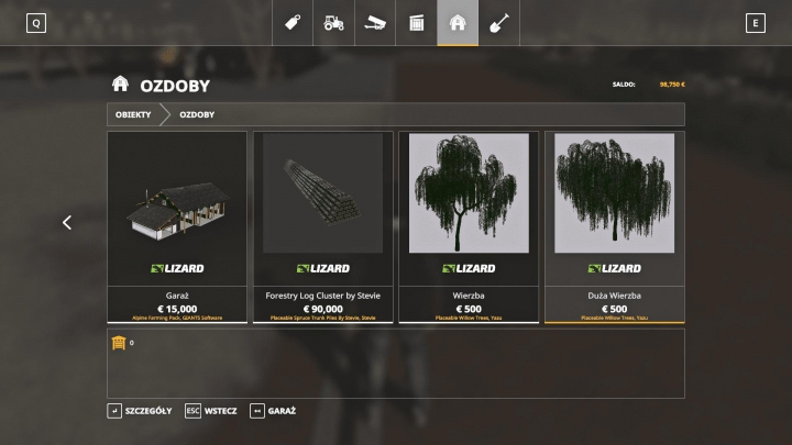 Trending mods today: FS19 Willows Trees v1.0.0.0
