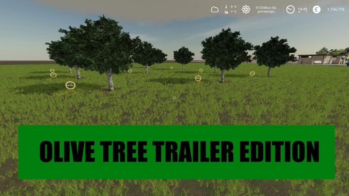 Trending mods today: OLIVE TREE TRAILER EDITION v1.0.0.0