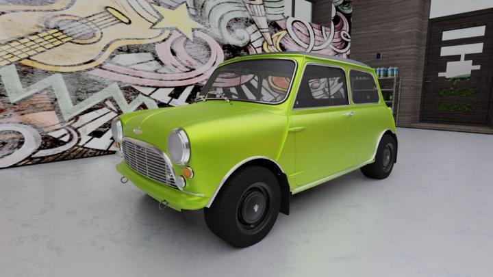 Trending mods today: Mini Cooper S 1965