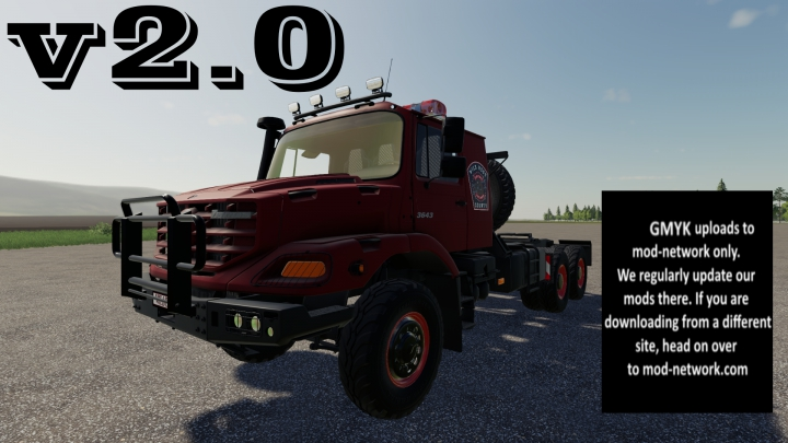 Trending mods today: Mercedes Benz Zetros 3643