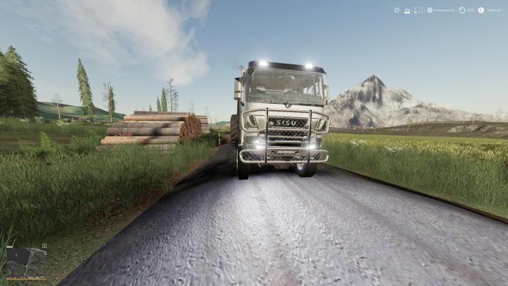 Trending mods today: Sisu Polar Forest machine transport V1