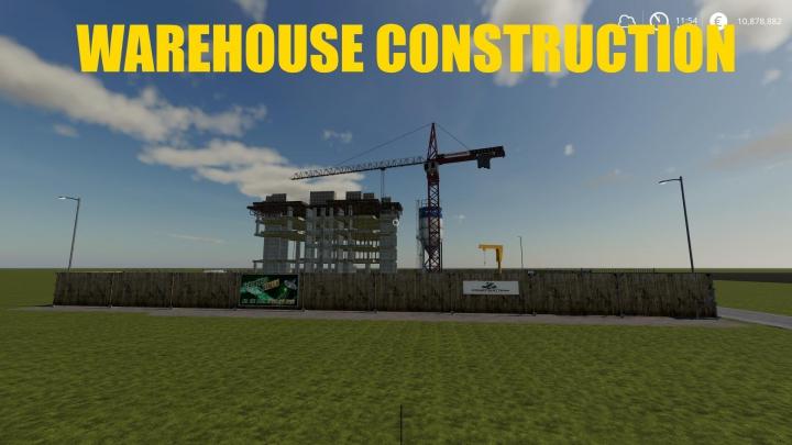 Trending mods today: WAREHOUSE CONSTRUCTION v1.0.0.0