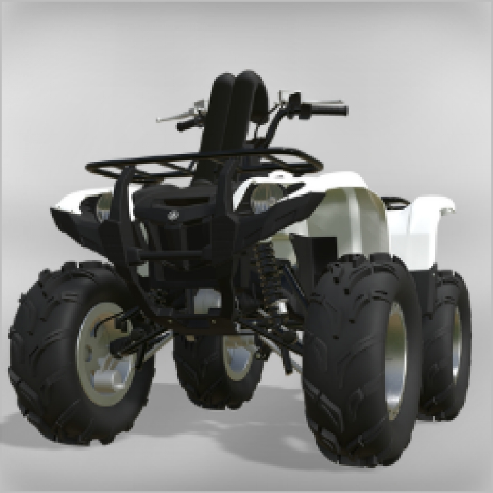 Trending mods today: FS19 Yamaha Grizzly on Assinators