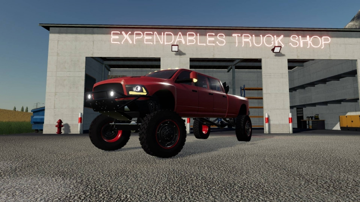 Trending mods today: Dodge Mega Ram