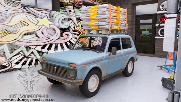 Trending mods today: Lada Niva 4X4