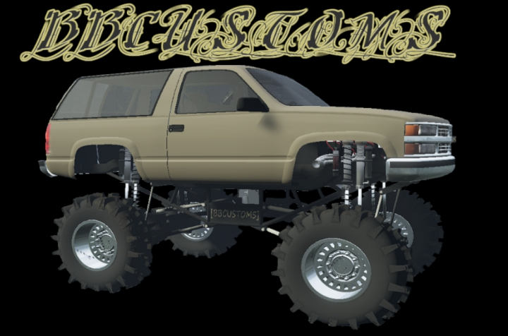 Tahoe mud truck category: Cars