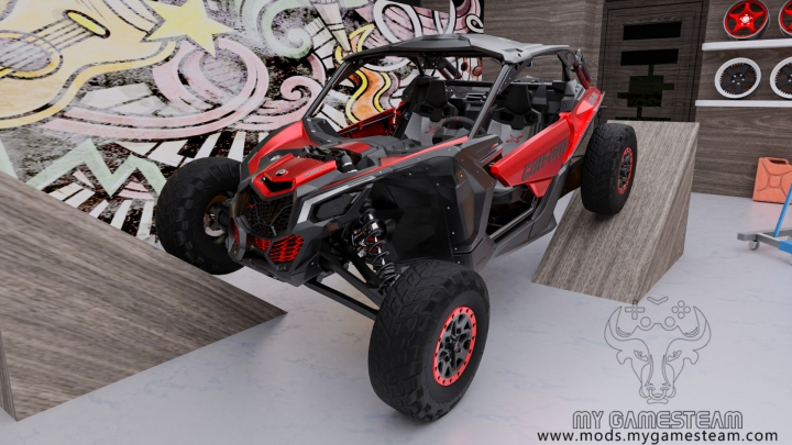 Can-Am Maverick X RS Turbo R 2018 category: Cars