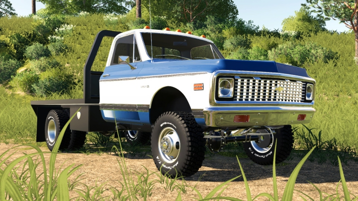 1971 Chevy C30 Flatbed category: Tractors
