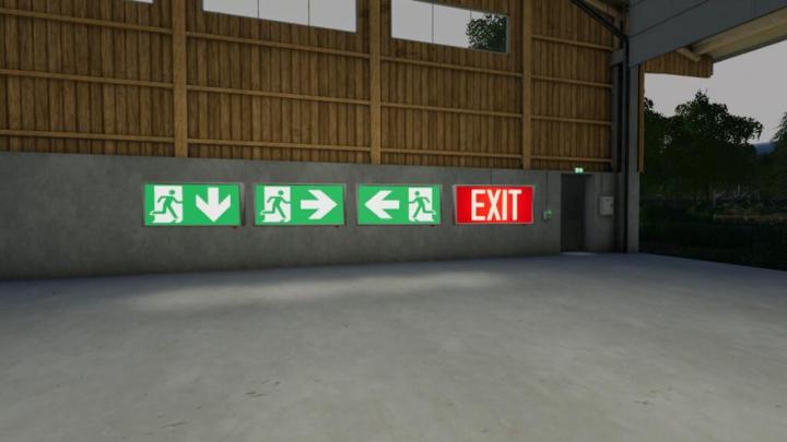 Trending mods today: Exit Sign (Prefab) v1.0.0.0