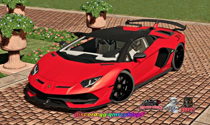 Trending mods today: Lamborghini Aventador SVJ Roadster