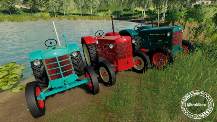 Hanomag R28 made by ls_oldtimer v1.0 category: Tractors