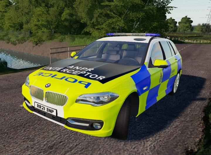 Trending mods today: UK Police BMW