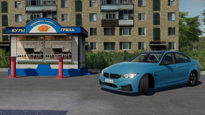 Best mods from the day: BMW M3 F80 v1.0.