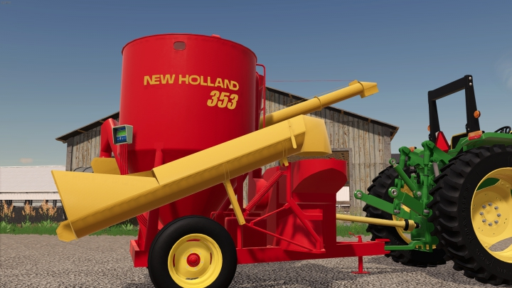 Trending mods today: Diniz Farms Map Expansion Pack: New Holland 353 Grinder Mixer