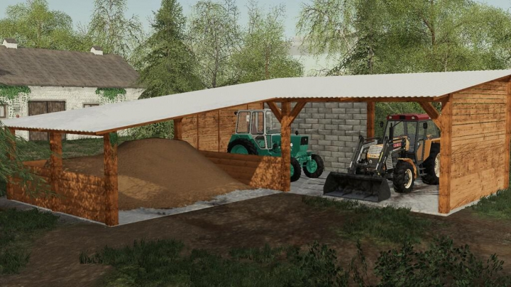 Objects Wooden Shed Pack v1.0.0.0