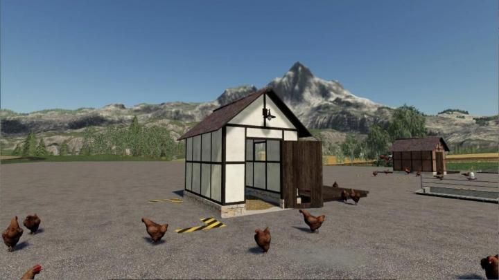 Trending mods today: Open Chicken Coop Timberframe v1.0.0.0