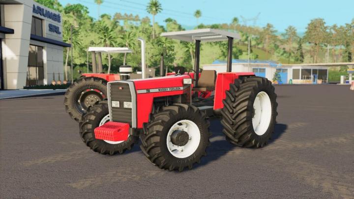 Tractors MASSEY FERGUSON 200 SERIES v1.0.0.0