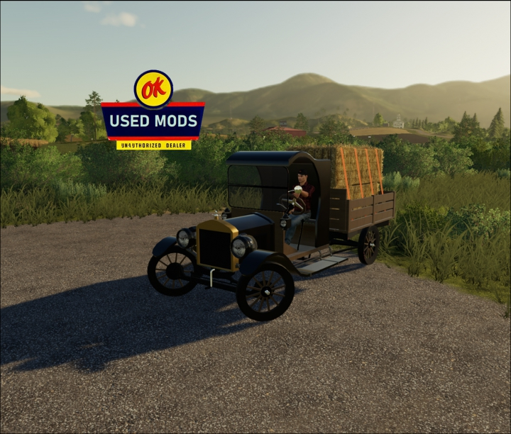 Trending mods today: Old Truck - Model T Flat Bed - By OKUSED MODS