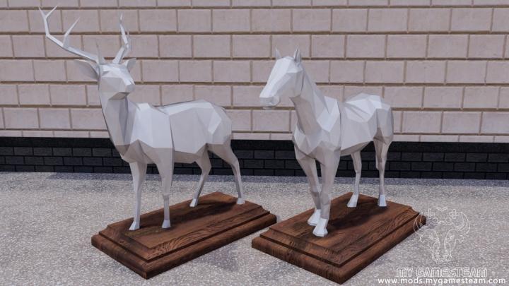 Trending mods today: Decorative Sculptures