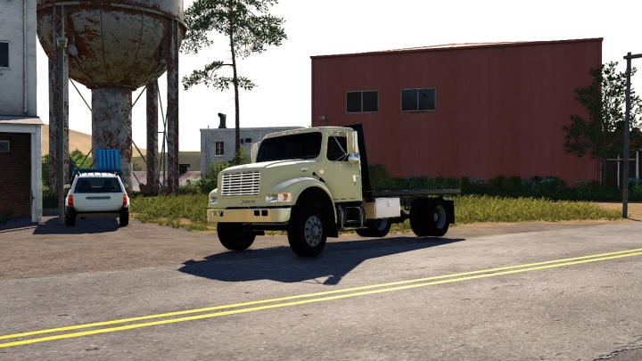 Trending mods today: International 4900 Single Axel Flatbed (Fixed)