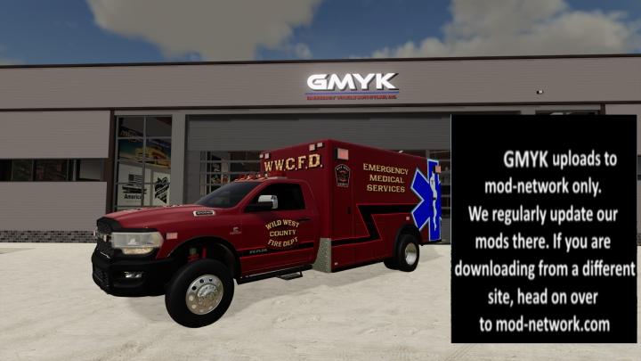 Trending mods today: Dodge Ram 3500 Ambulance