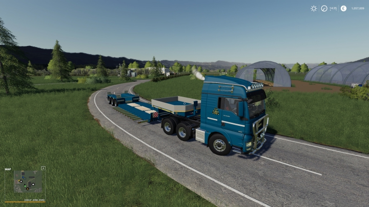 Trending mods today: Goldhofer Low Loader With Extensions Fixed