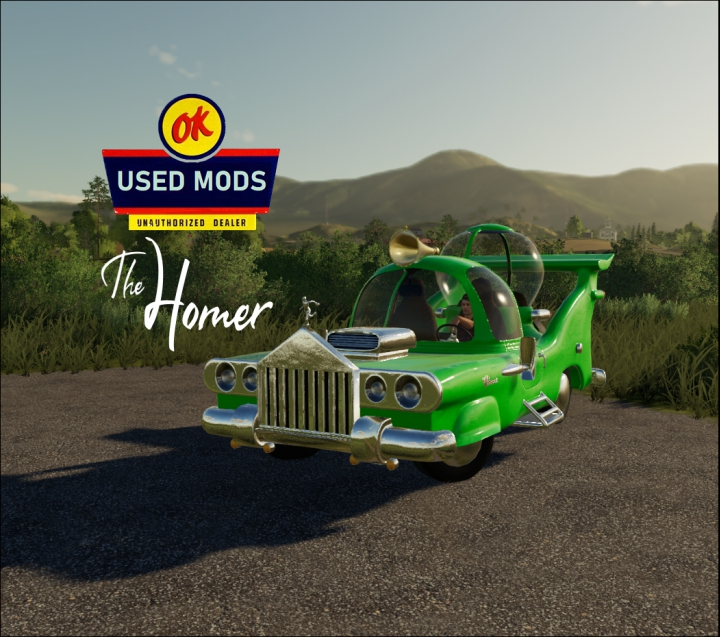 Trending mods today: The Homer - Homer Simpson's Car - By OKUSED MODS