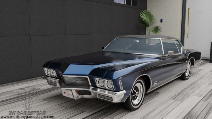 Trending mods today: Buick Riviera Coupe 1971