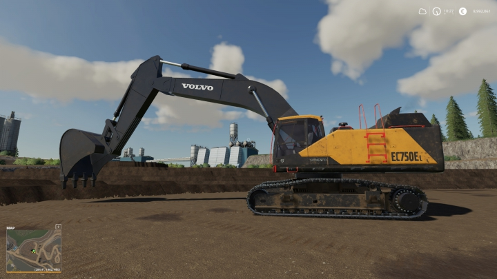 Trending mods today: Volvo EC-750EL Mining Excavator