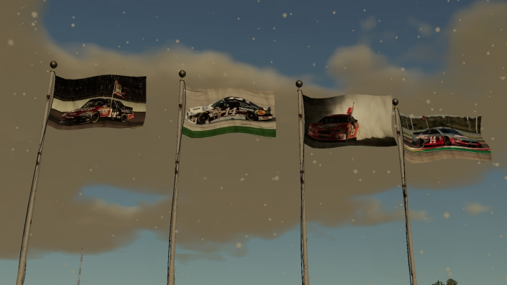 Trending mods today: NASCAR Tony Stewart Flag Collection