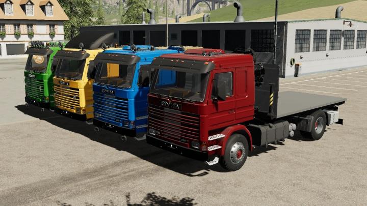Trending mods today: Scania 113H Crane