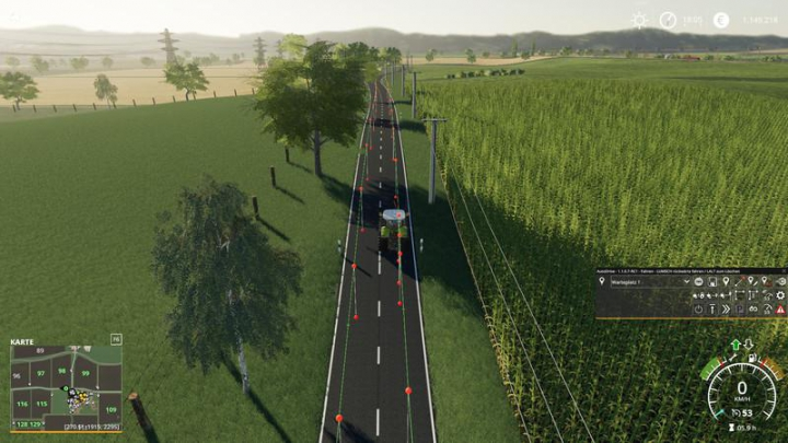 Trending mods today: AutoDrive Course Altkirch in Alsace 2 v1.0