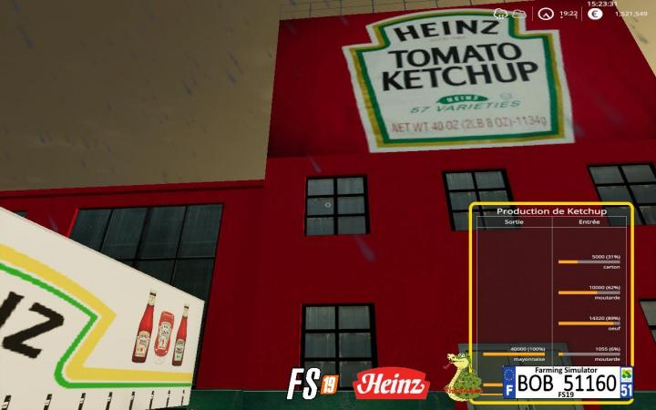 Trending mods today: FS19 KetchupFactory v1.0.5