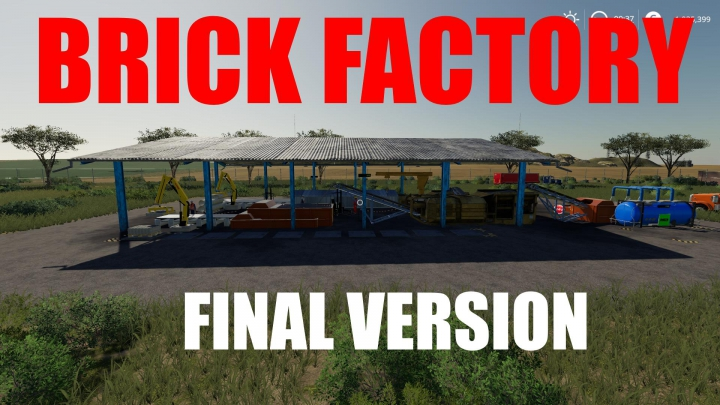 Best mods from the day: RED BRICK FACTORY Final.