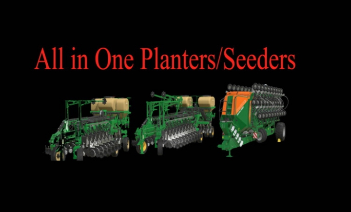 All in One Planters Pack v1.1 category: Seeder