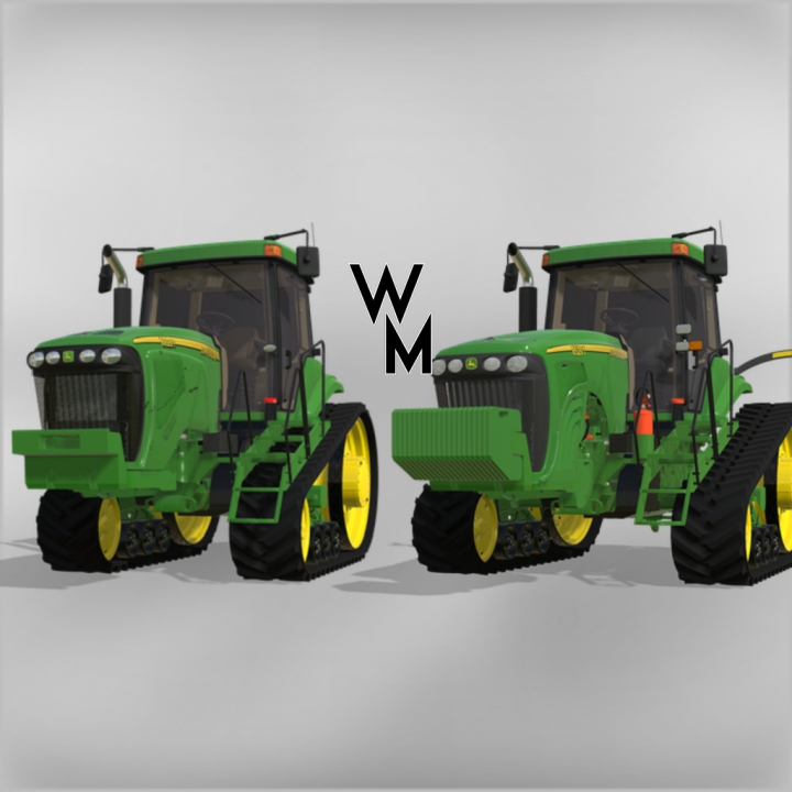John Deere 8020T Series category: Tractors
