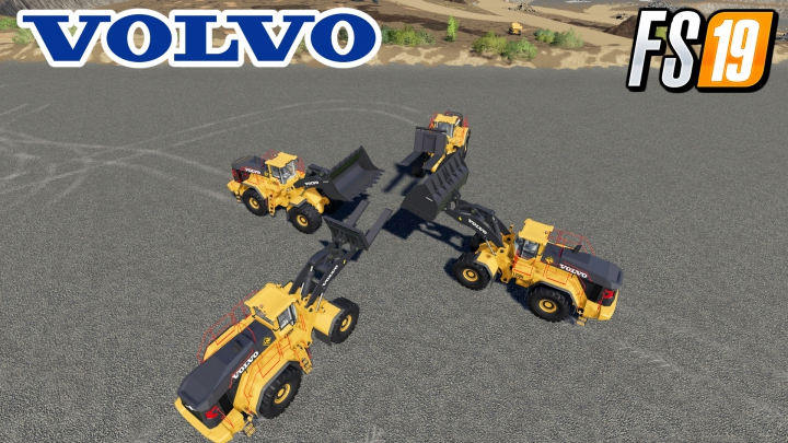 Trending mods today: Volvo L-350H Mining Loader + New Tools v1.2