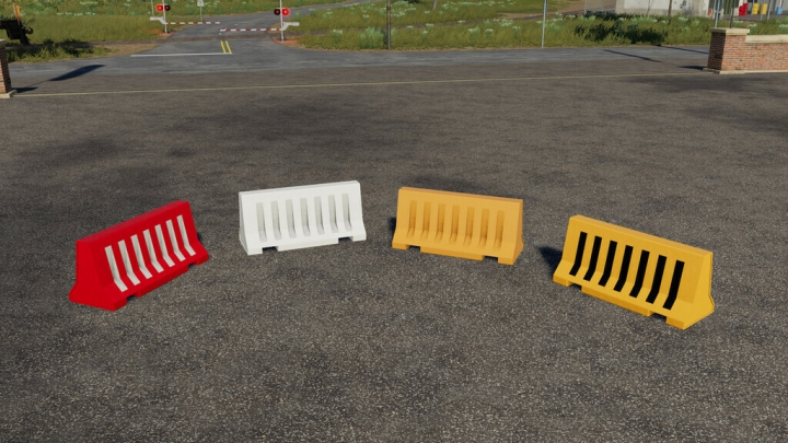 Trending mods today: Plastic Road Barrier