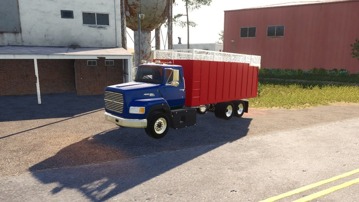 Trending mods today: Ford Aeromax L9000 Grain Truck