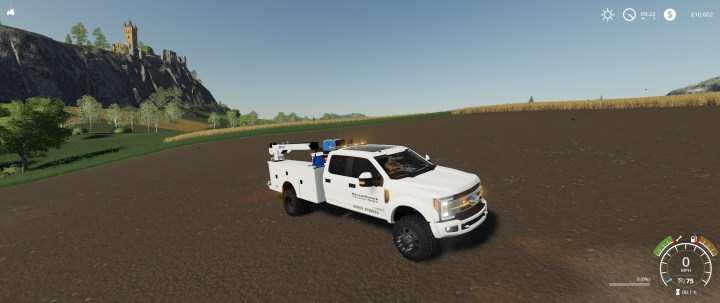 F450 Service Truck category: Trucks
