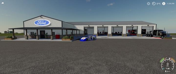 Trending mods today: Ford Racing Garage