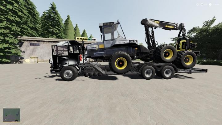 Trending mods today: SISU M-series Forest machine transportation V1