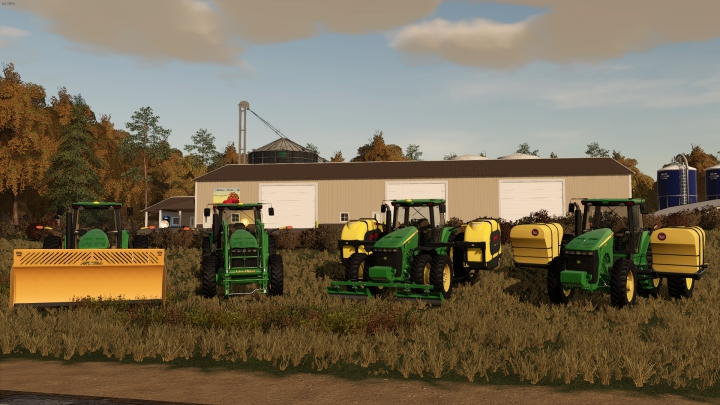 John Deere 8030 Series US category: Tractors